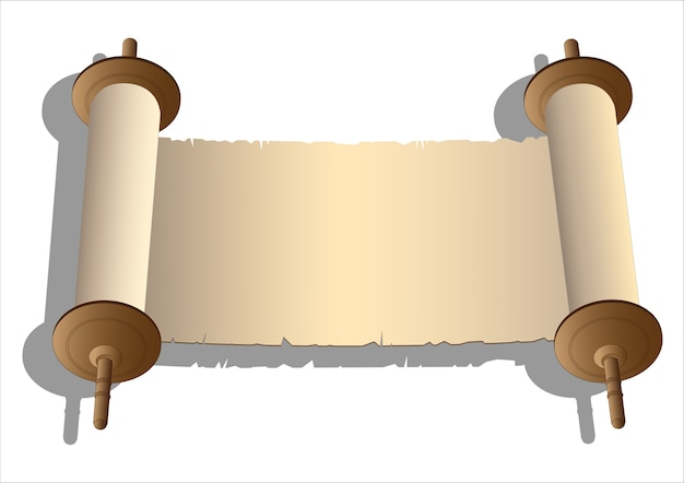 Vector antiguos rollos