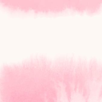 Vector de banner de estilo acuarela rosa