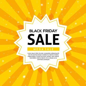 Vector black friday sale background