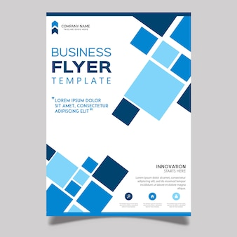 Vector business flyer designs