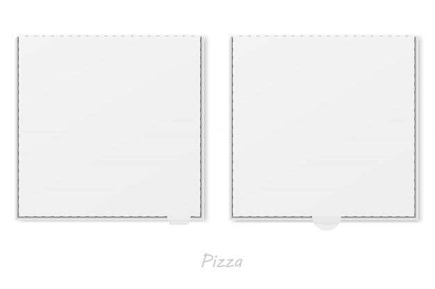 Vector de caja de pizza