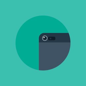 Vector de la cámara del teléfono inteligente