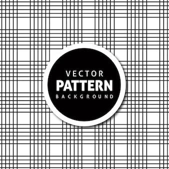 Vector check diseño de fondo del patrón