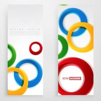 Vector círculo de colores.
