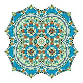 Vector colorido mandala