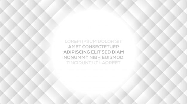 Vector los conceptos de la ilustración del diseño moderno dinámico de moda creativo abstracto con el fondo abstracto blanco gris