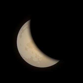 Vector conjunto de fase lunar ilustración