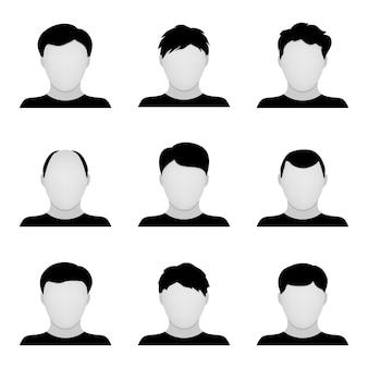 Vector conjunto de iconos de personas