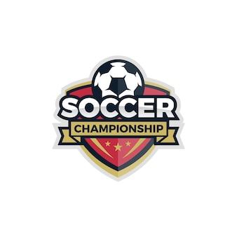 Vector de copa del mundo de logo de fútbol de fútbol