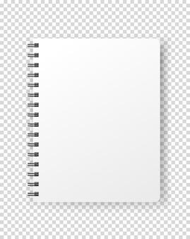 Vector de cuaderno