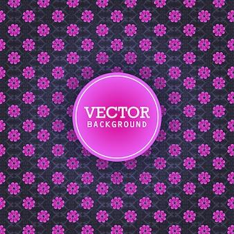 Vector de diseño de fondo de patrón abstracto
