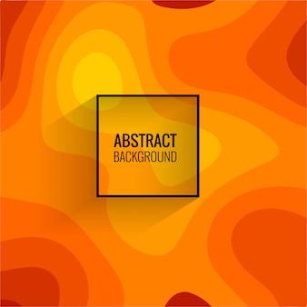 Vector de fondo abstracto colorido papercut