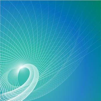 Vector de fondo contemporáneo azul