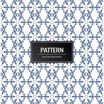 Vector decorativo de patrones sin fisuras
