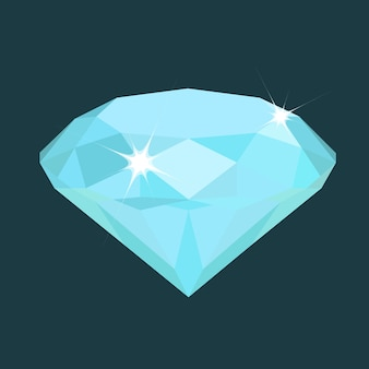 Vector de diamante