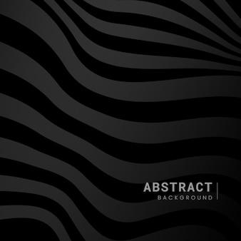 Vector de diseño de fondo abstracto negro