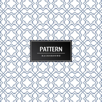 Vector de diseño de fondo elegante de patrones sin fisuras