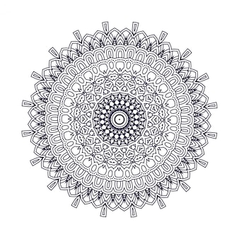 Vector diseño indio mandala