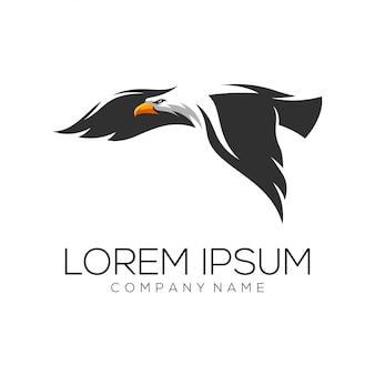 Vector de diseño de logo de águila