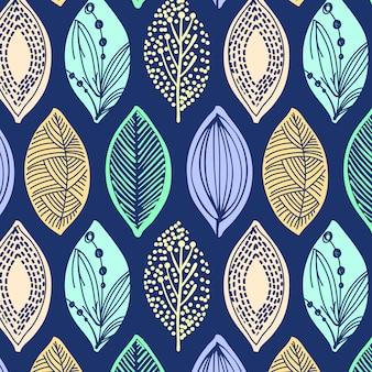 Vector de diseño de patrón de moda