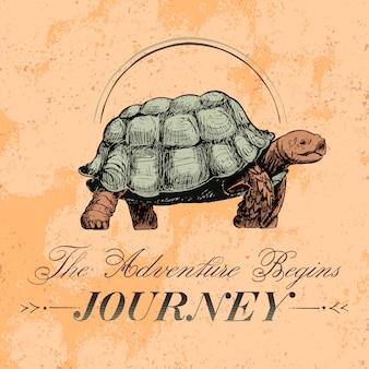 Vector de diseño de viaje y viajes logo