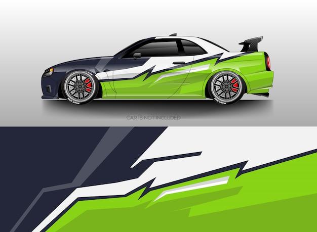 Vector de diseños de envoltura de coche