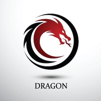 Vector de dragon chino