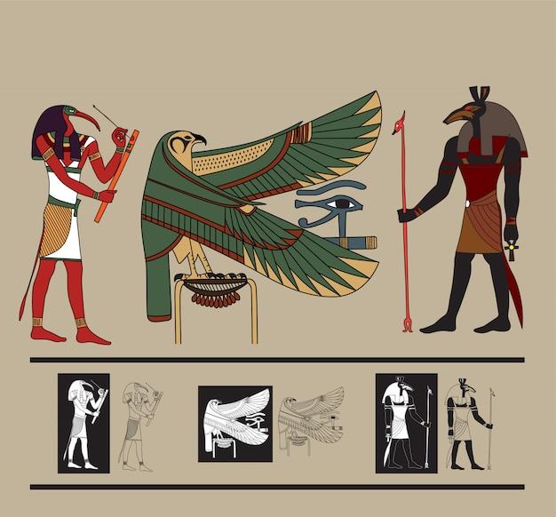 Vector de egipto