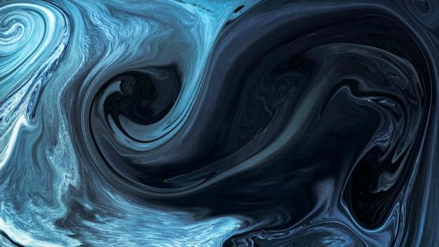 Vector de elemento de diseño de acuarela azul abstracto