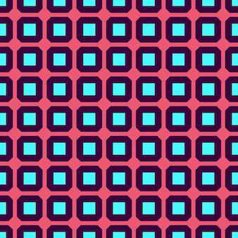 Vector sin fisuras patrón de geometría para postales