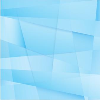 Vector de fondo abstracto geométrico azul