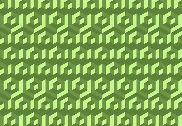 Vector de fondo abstracto geométrico de patrones sin fisuras