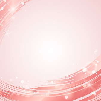 Vector de fondo abstracto de onda rosa