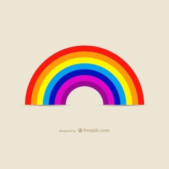Vector fondo de arcoíris