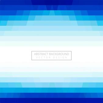 Vector de fondo azul geométrico abstracto