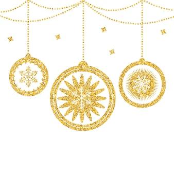 Vector de fondo de belleza abstracta navidad y año nuevo