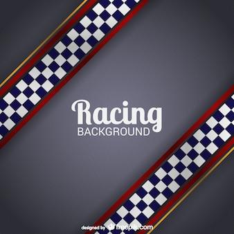 Vector fondo de carreras