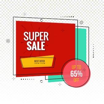 Vector de fondo colorido super venta moderna