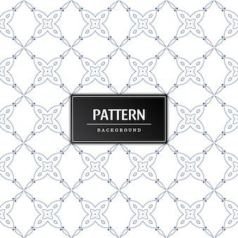 Vector de fondo decorativo moderno de patrones sin fisuras