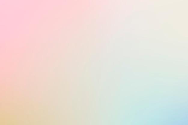 Vector de fondo degradado en colores primaverales