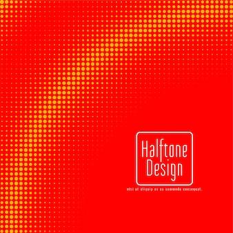 Vector de fondo de diseño de semitono abstracto