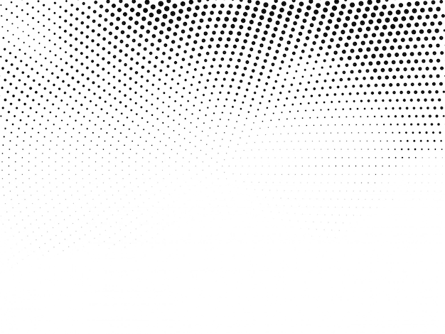 Vector de fondo de diseño de semitono moderno