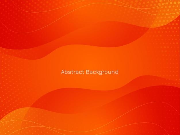 Vector de fondo de estilo de onda de color rojo moderno