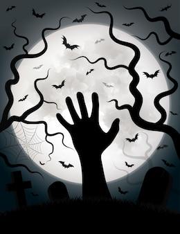 Vector de fondo de halloween