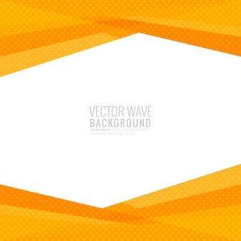 Vector de fondo de onda geométrica moderna