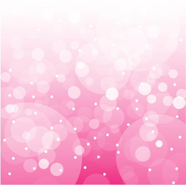 Vector de fondo rosado abstracto del bokeh