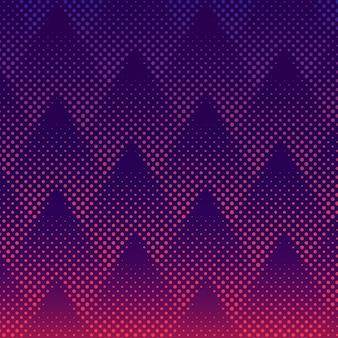 Vector de fondo de semitono púrpura y rosa