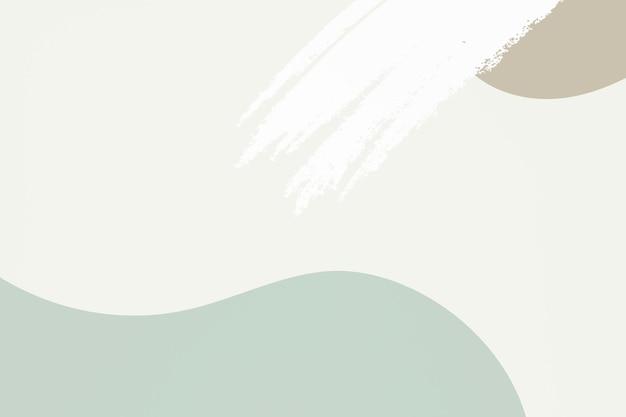 Vector de fondo con textura abstracta verde y marrón pastel
