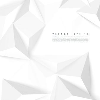 Vector de fondo triángulo de polígono abstracto.