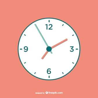 Vector gratuito de reloj